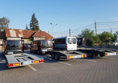 transport auto pe platforma Germania Romania