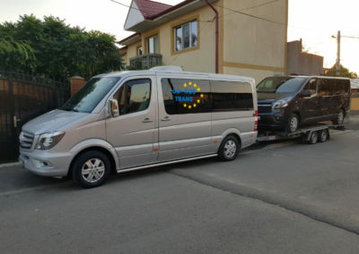 transport auto pe platforma Romania Germania